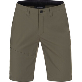 Peak Performance W's Treck Long Shorts Terrain Green